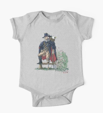 GEORGE WASHINGTON FOUNDING PIRATE FATHER One Piece - Short Sleeve