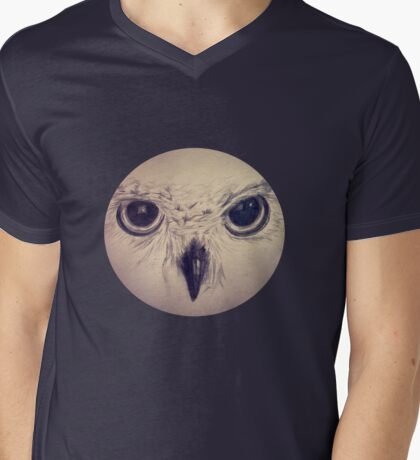 Eyes without a face Mens V-Neck T-Shirt