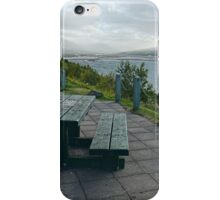 Table With A View Or Lets Have Lunch... iPhone Case/Skin