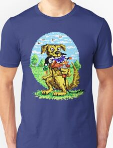 8-BIT DOG HUNTS DUCK T-Shirt