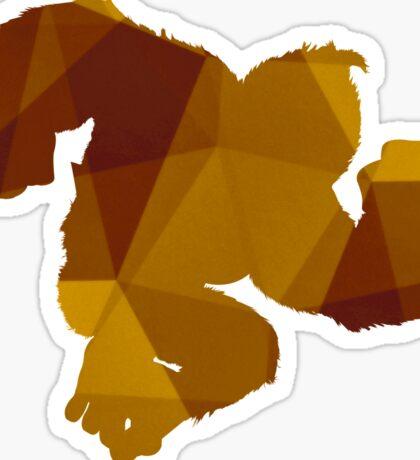 Donkey Kong - Fractal Sticker