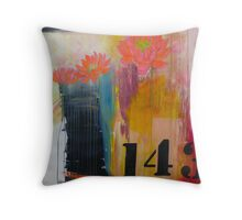 143 Billboard for Love print pillows & totes Throw Pillow