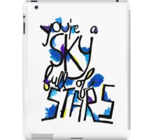Sky Full of Stars (painted) iPad Case/Skin