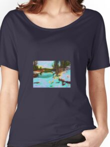 Lynx Lake, Arizona in Winter Women's Relaxed Fit T-Shirt