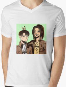 Levi Hange Mens V-Neck T-Shirt