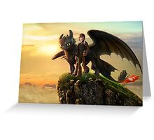 How to Train Your Dragon 09 Greeting Card