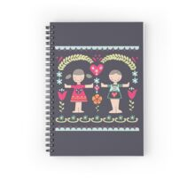 Friendship Spiral Notebook