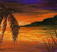 Caribbean Sunset by Anastasiya Malakhova
