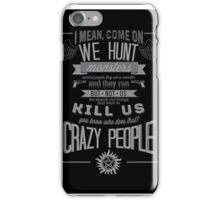 Supernatural  iPhone Case/Skin