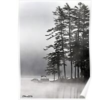 Foggy Point Poster
