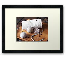 Bath Bombs Framed Print