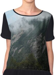 Gazing at the Mountain Chiffon Top