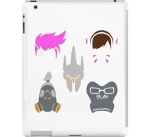 overwatch tank icons iPad Case/Skin