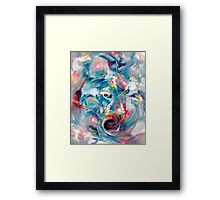 Colorful Water Framed Print