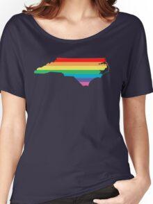 rainbow north carolina Women's Relaxed Fit T-Shirt