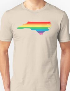 rainbow north carolina Unisex T-Shirt