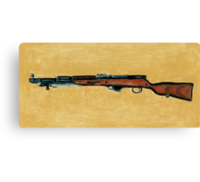 Gun - Rifle - SKS Canvas Print