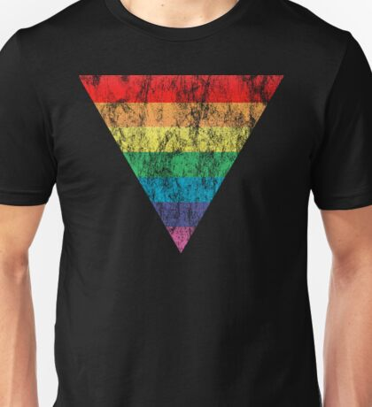 rainbow triangle Unisex T-Shirt