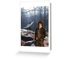 Outlander/Jamie Fraser on Fraser's Ridge Greeting Card