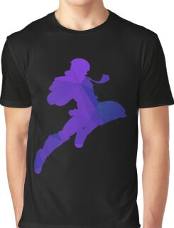 Captain Falcon - Fractal Knee of Justice Graphic T-Shirt