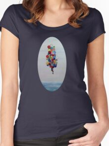 Great Heights Women's Fitted Scoop T-Shirt