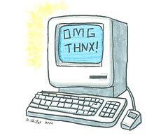 OMG THNX by PersonalGenius