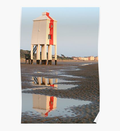 Burnham-on-Sea Low Lighthouse Poster