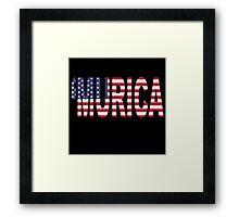 Murica Framed Print