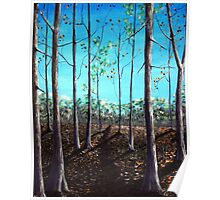 Bright Forest Poster