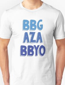 BBG AZA BBYO: Blue Unisex T-Shirt