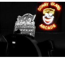 Coney Island Arcade Photographic Print