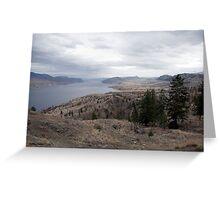 Kamloops Lake Greeting Card
