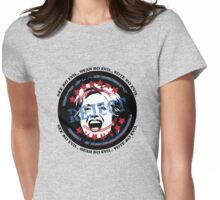 No To Hillary - See No Evil, Hear No Evil, Vote No Evil (Light Background) Womens Fitted T-Shirt