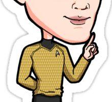 Star Trek Reboot - Ensign Pavel Andreievich Chekov Anton Yelchin Sticker