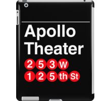 Apollo Theater iPad Case/Skin