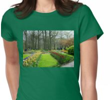 Colourful Flowerbed - Keukenhof Gardens Womens Fitted T-Shirt