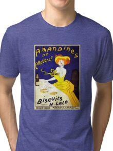 'Amandines de Provence' by  Leonetto Cappiello (Reproduction) Tri-blend T-Shirt
