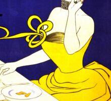 'Amandines de Provence' by  Leonetto Cappiello (Reproduction) Sticker