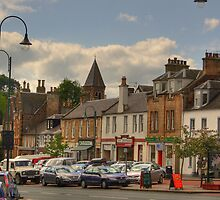 Biggar High Street III by Tom Gomez
