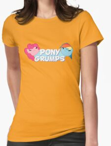 Pony Grumps T-Shirt Womens Fitted T-Shirt