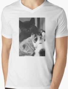 Pile of Kittens (Clothing Products) Mens V-Neck T-Shirt