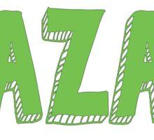 BBG AZA BBYO: Green Sticker