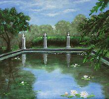 Reflecting Pool by Anastasiya Malakhova
