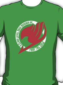 Fairy Tail Guild Member (Red) T-Shirt