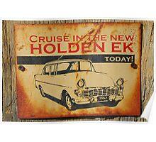 The New Holden EK Poster