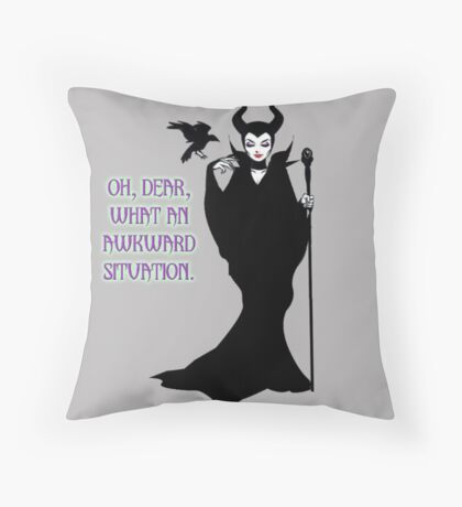 Maleficent Quote #1 Throw Pillow
