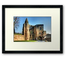 Gatehouse and Pend Framed Print
