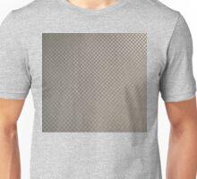 Carbon Fiber Silver Unisex T-Shirt