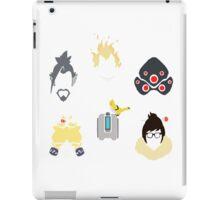 overwatch defense icons iPad Case/Skin