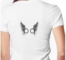 Starbuck's love tattoos Womens Fitted T-Shirt